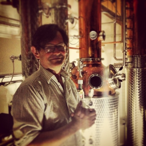 Jamie Baxter at City of London Distillery