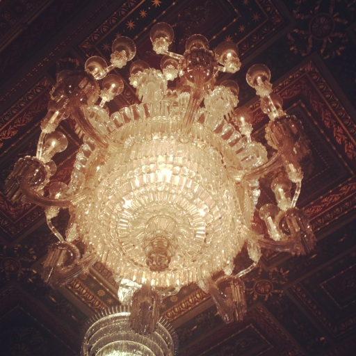 Chandelier at Goldsmiths' Hall