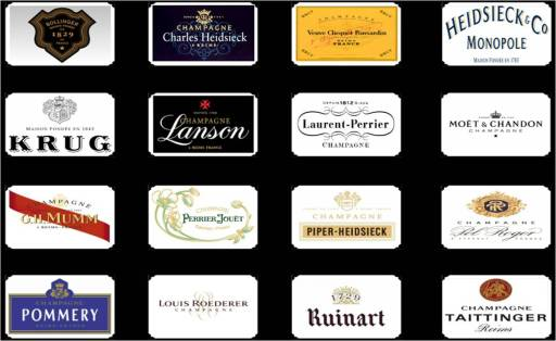 The Champagne Academy 16 Grandes Marques