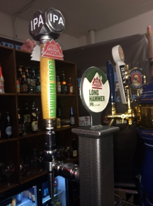 Red Hook's Long Hammer IPA 'Hammer' beer tap
